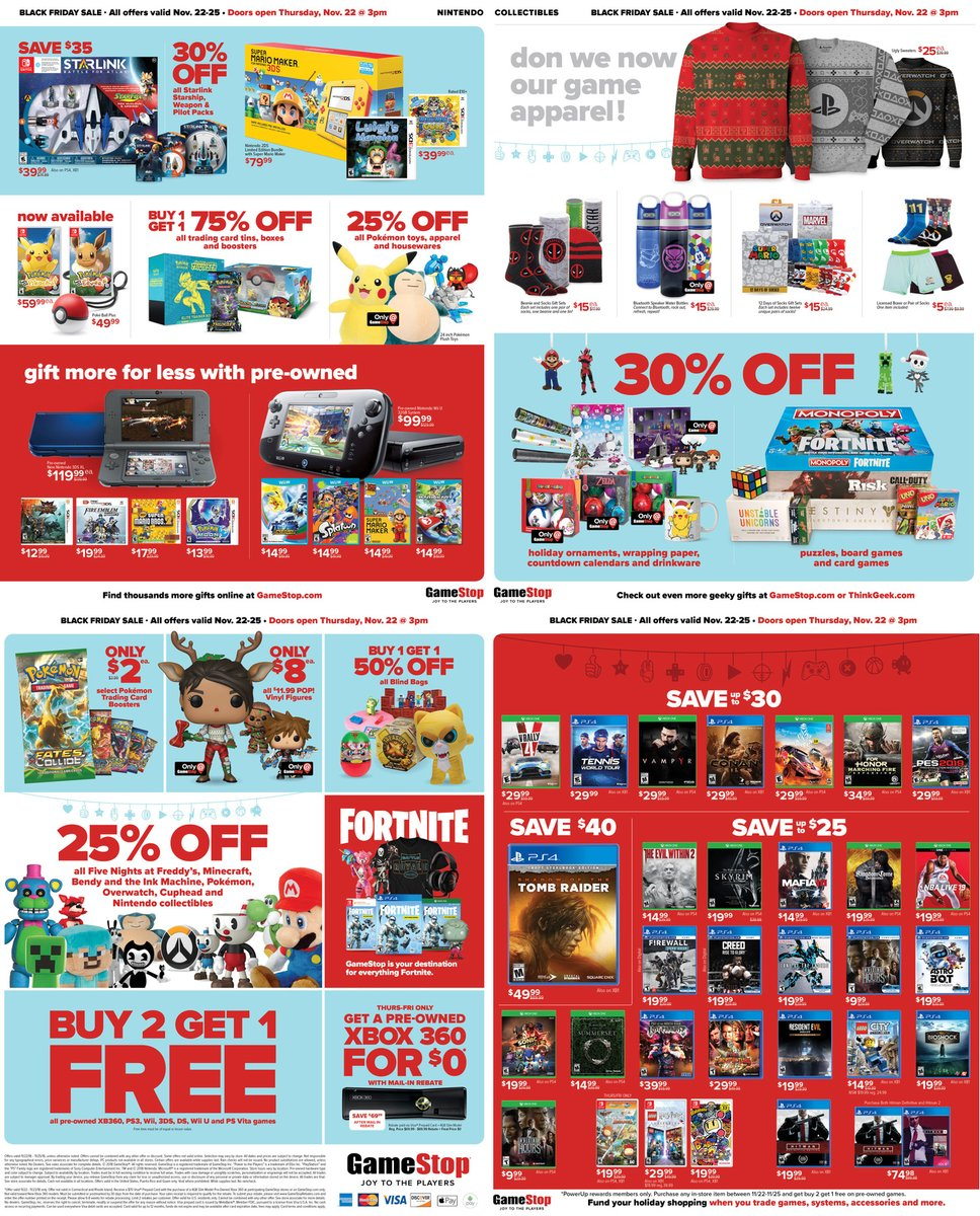 gamestop 39 s black friday 2018 deals 50 gift card with mario kart 8 deluxe switch bundle and. Black Bedroom Furniture Sets. Home Design Ideas