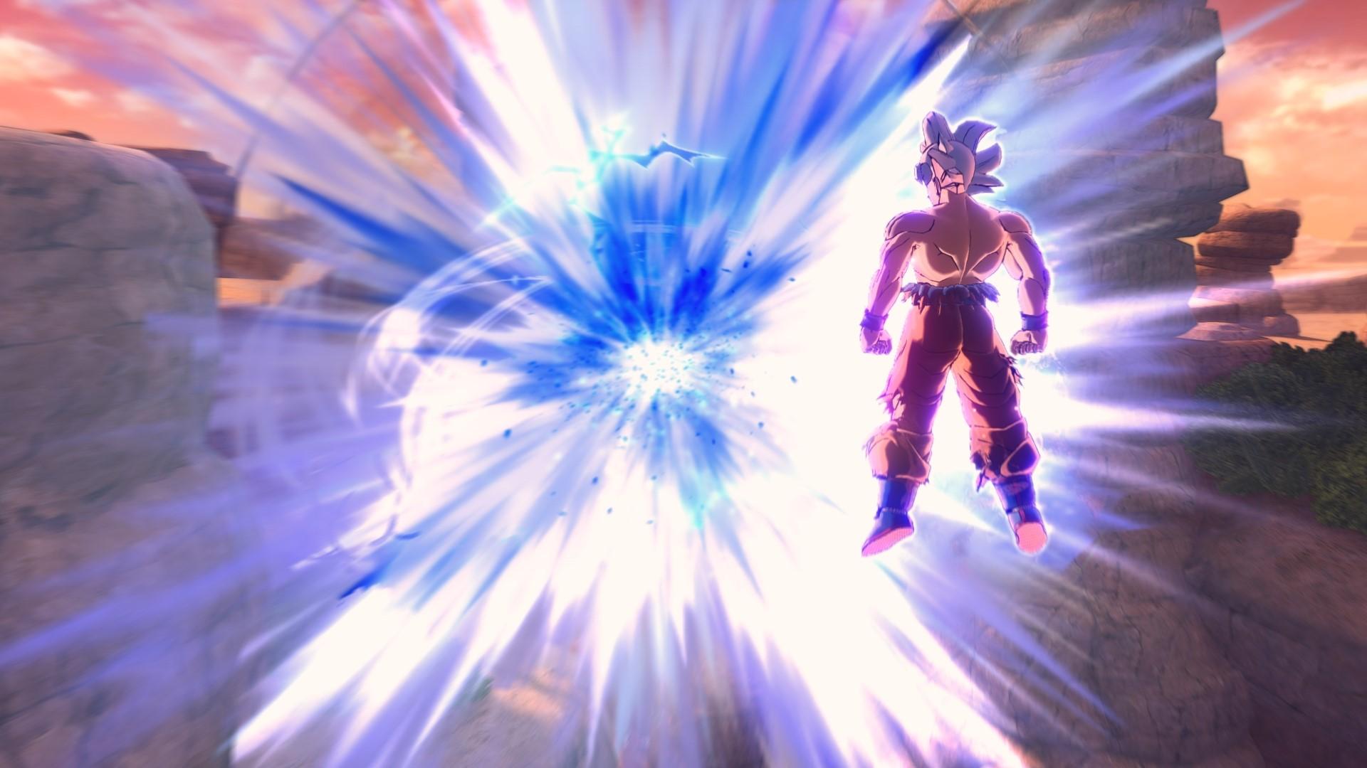 First Screenshots Of Goku Ultra Instinct In Dragon Ball Xenoverse