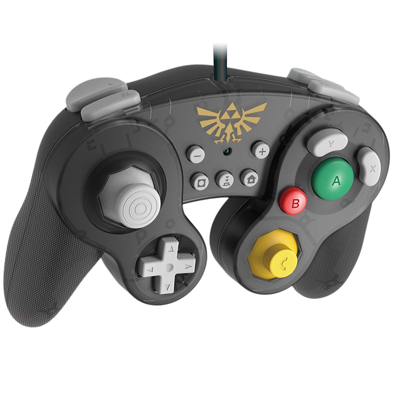 New photos of HORI's GameCube-style Mario, Zelda, and Pikachu Switch