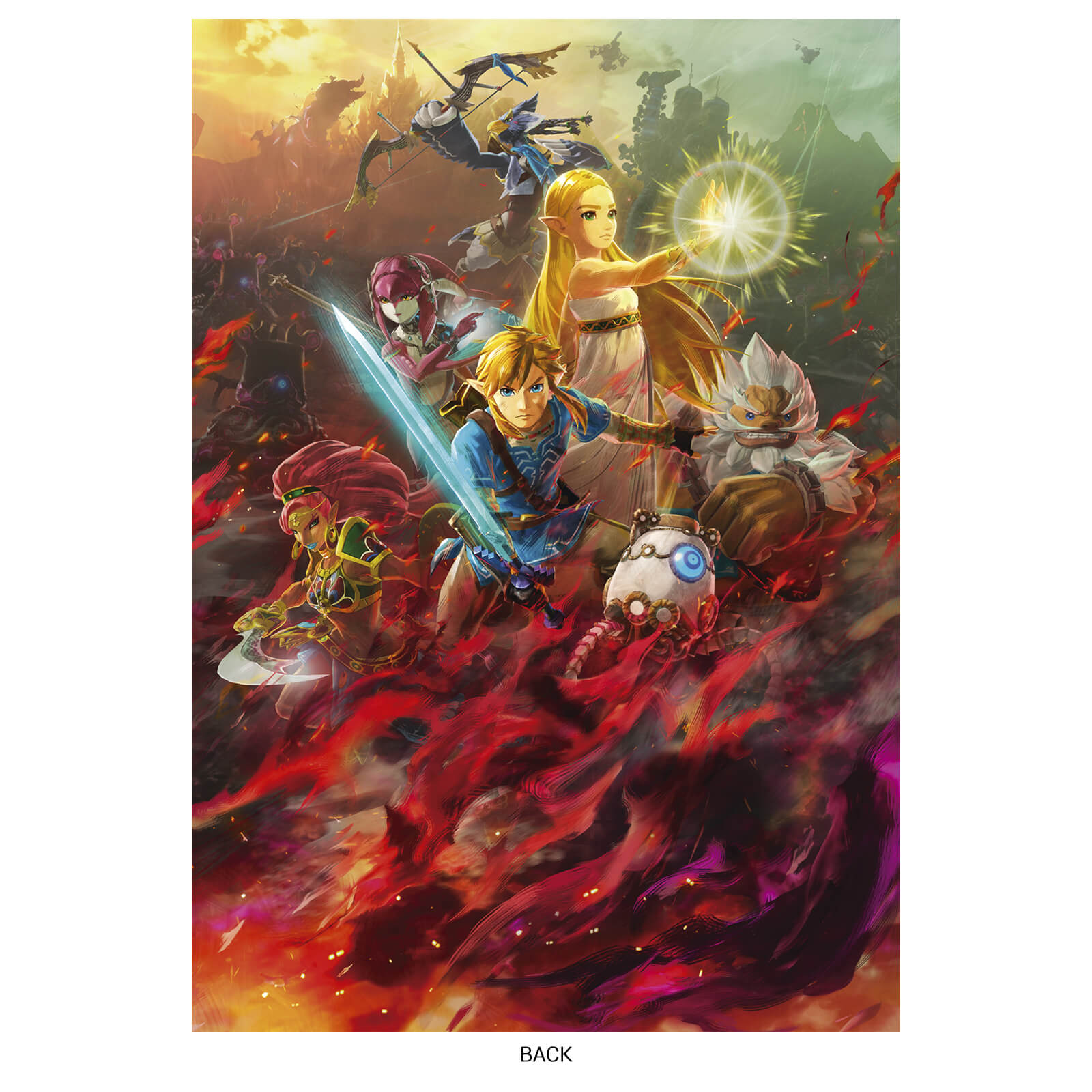 Pre Order Hyrule Warriors Age Of Calamity On The Nintendo Uk Store Get A Bonus A5 Notebook A2 Poster And Postcard Set Nintendo Everything