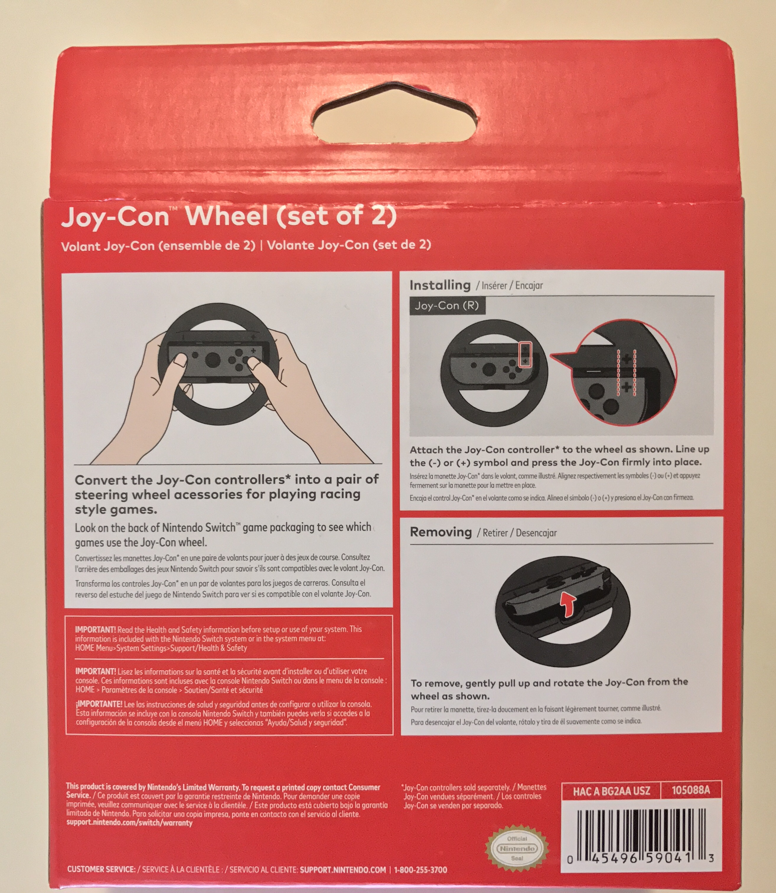 Photos Of The Joy Con Wheel Nintendo Everything