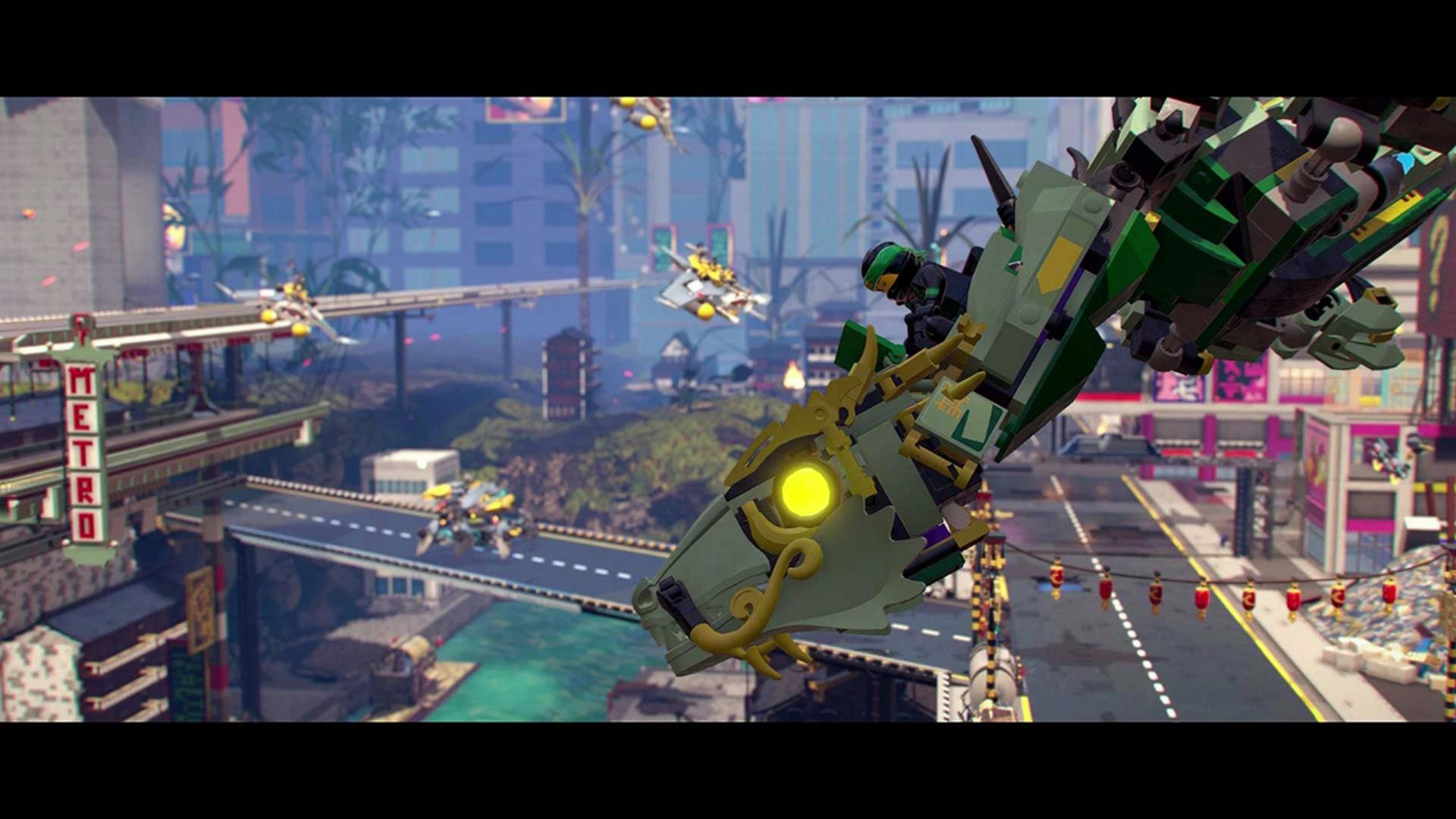 The LEGO Ninjago Movie Video Game file size, screenshots ...