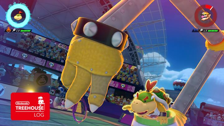 Mario Tennis Aces powerful and defensive characters ...
