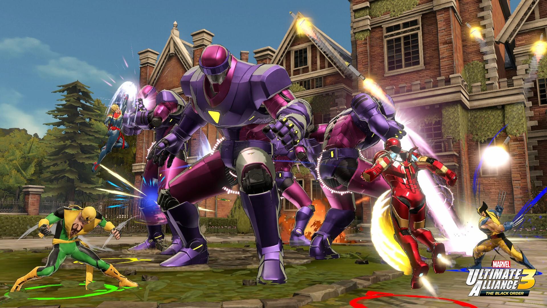 Marvel Ultimate Alliance 3: The Black Order Archives ...