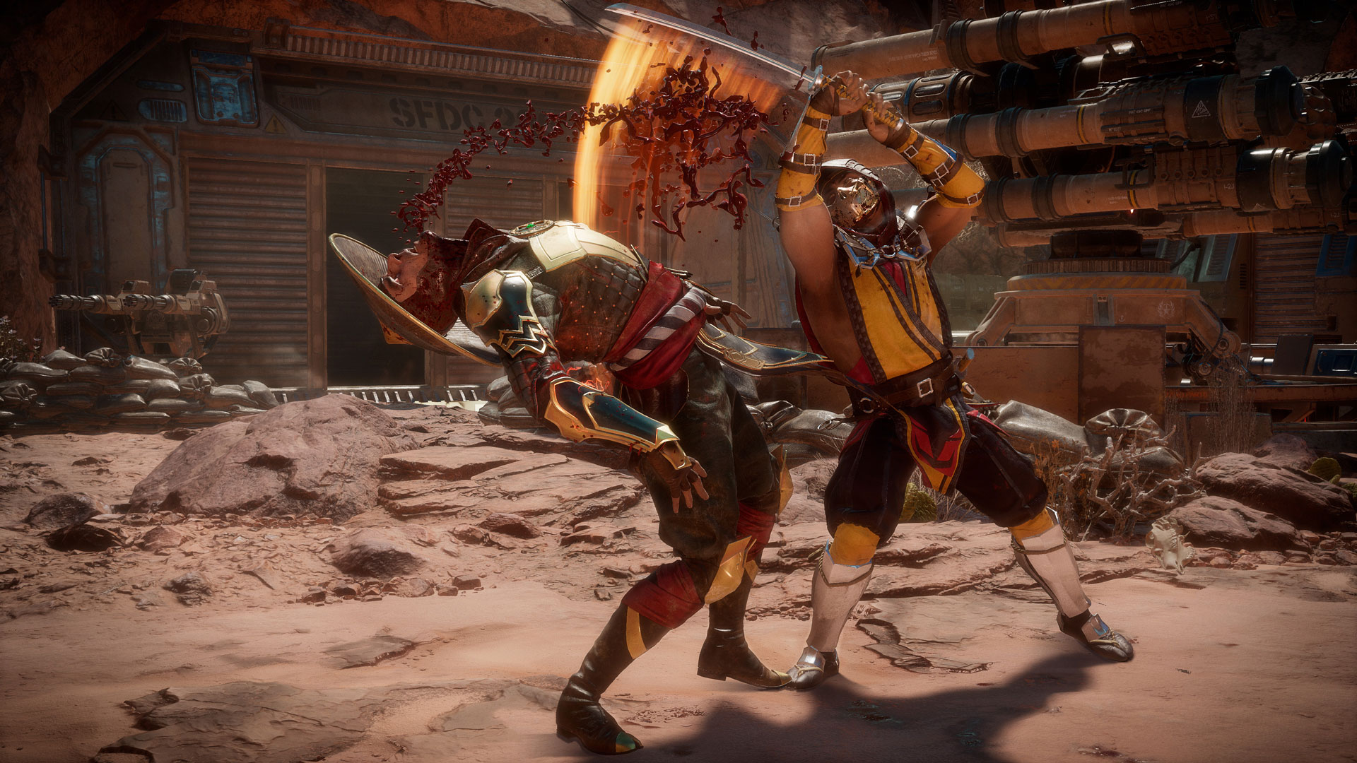 Mortal Kombat 11 Pre Orders Open First Screenshots