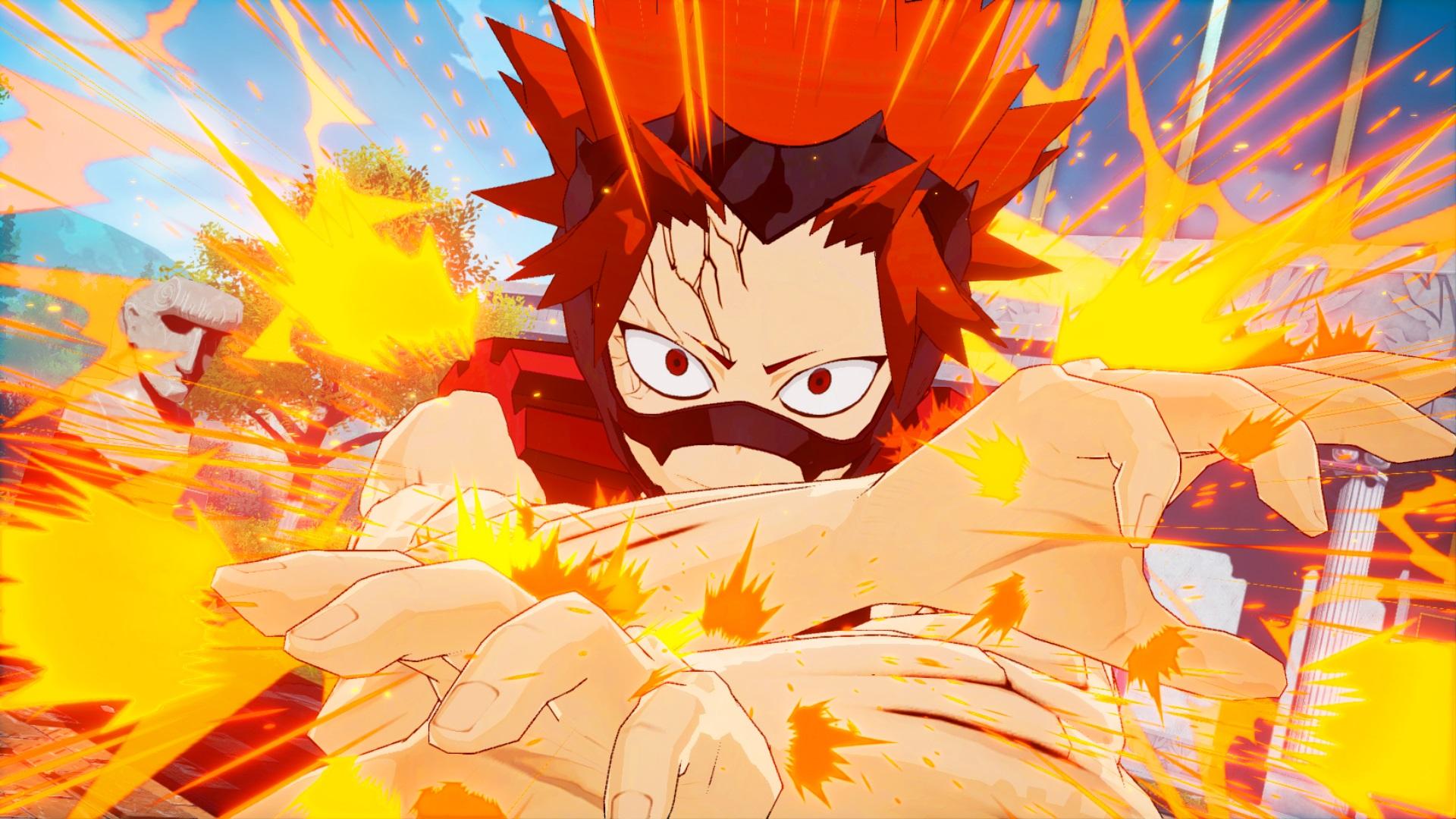 My Hero One S Justice Screenshots Show Fumikage Tokoyami