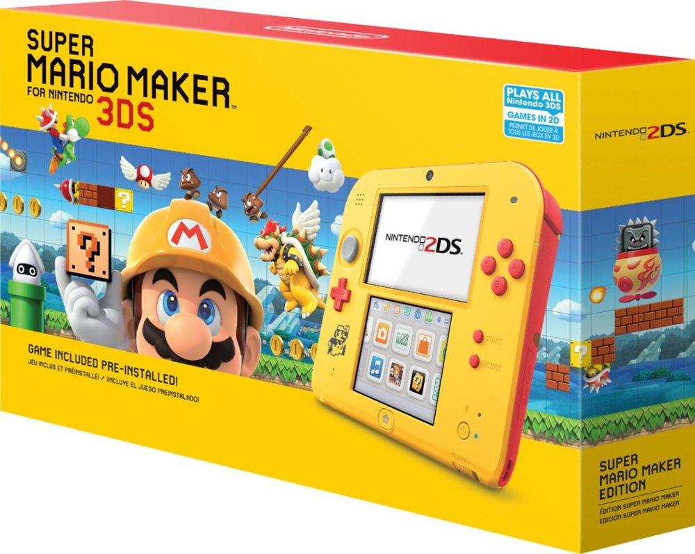 Nintendo 2ds Black Friday >> Photos of the 2DS Super Mario Maker Edition - Nintendo Everything