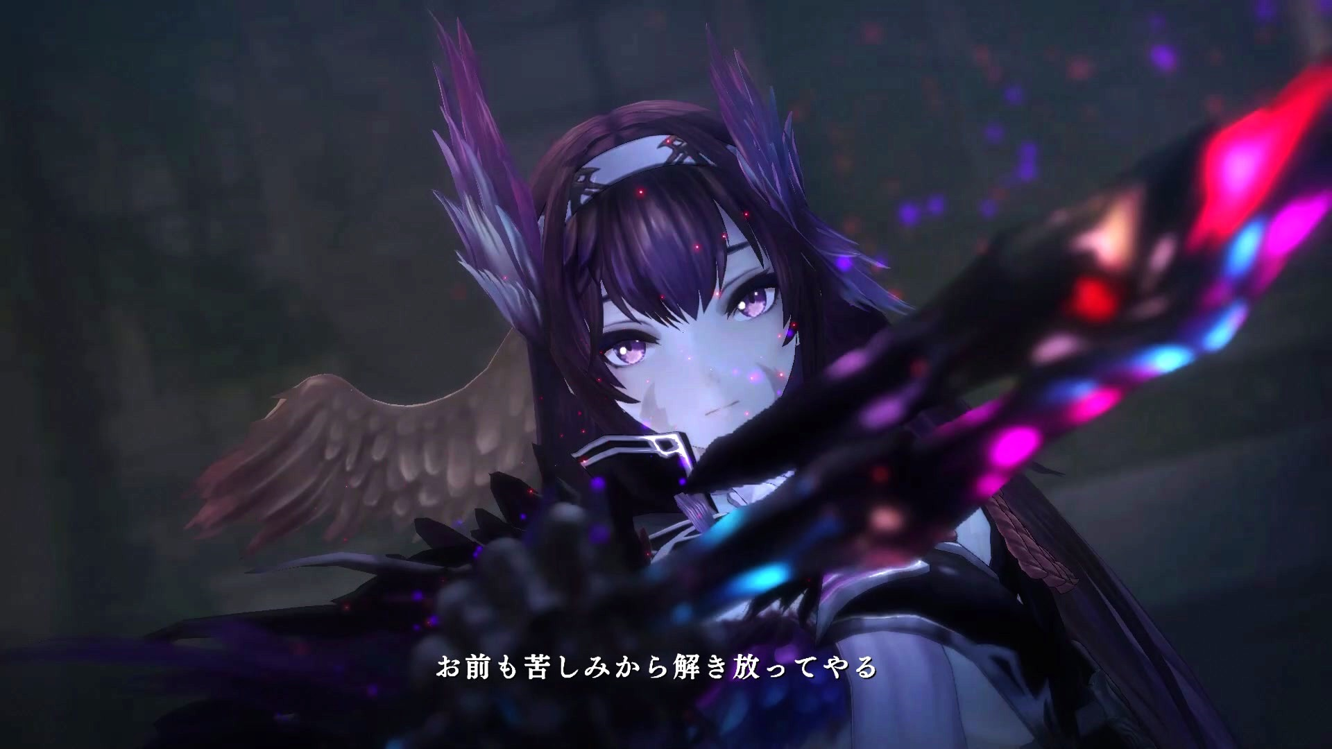 Nights Of Azure 2 Introduces Two New Characters Screenshots And