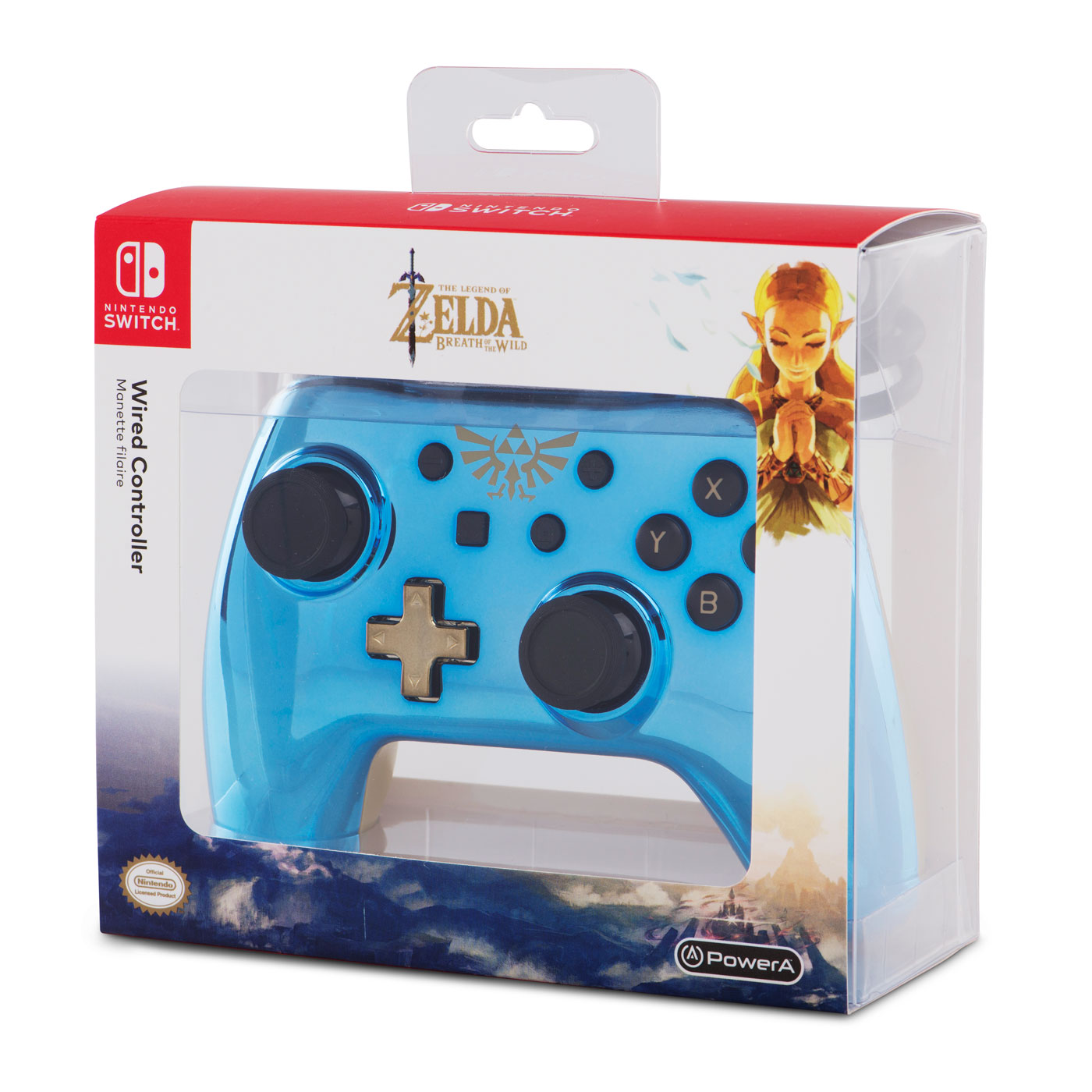 PowerA selling wired chrome controllers for Switch