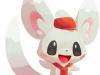 PokemonCafeMix_Pokemon_Minccino_Staff