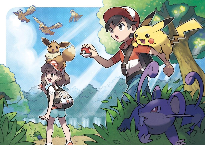 Pokemon Lets Go Fang Serie