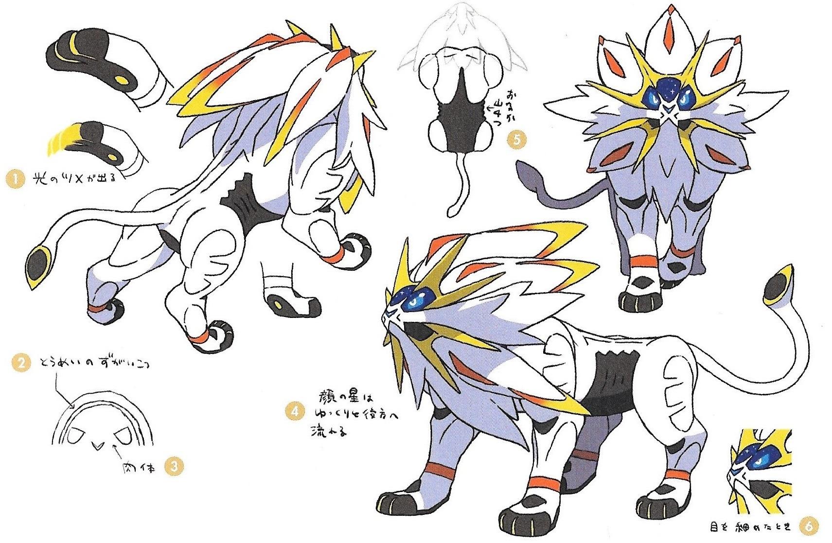 More Pokemon Sun Moon concept art