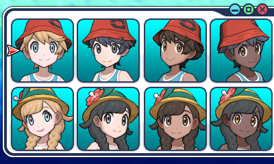 Pokemon Ultra Hair Colors