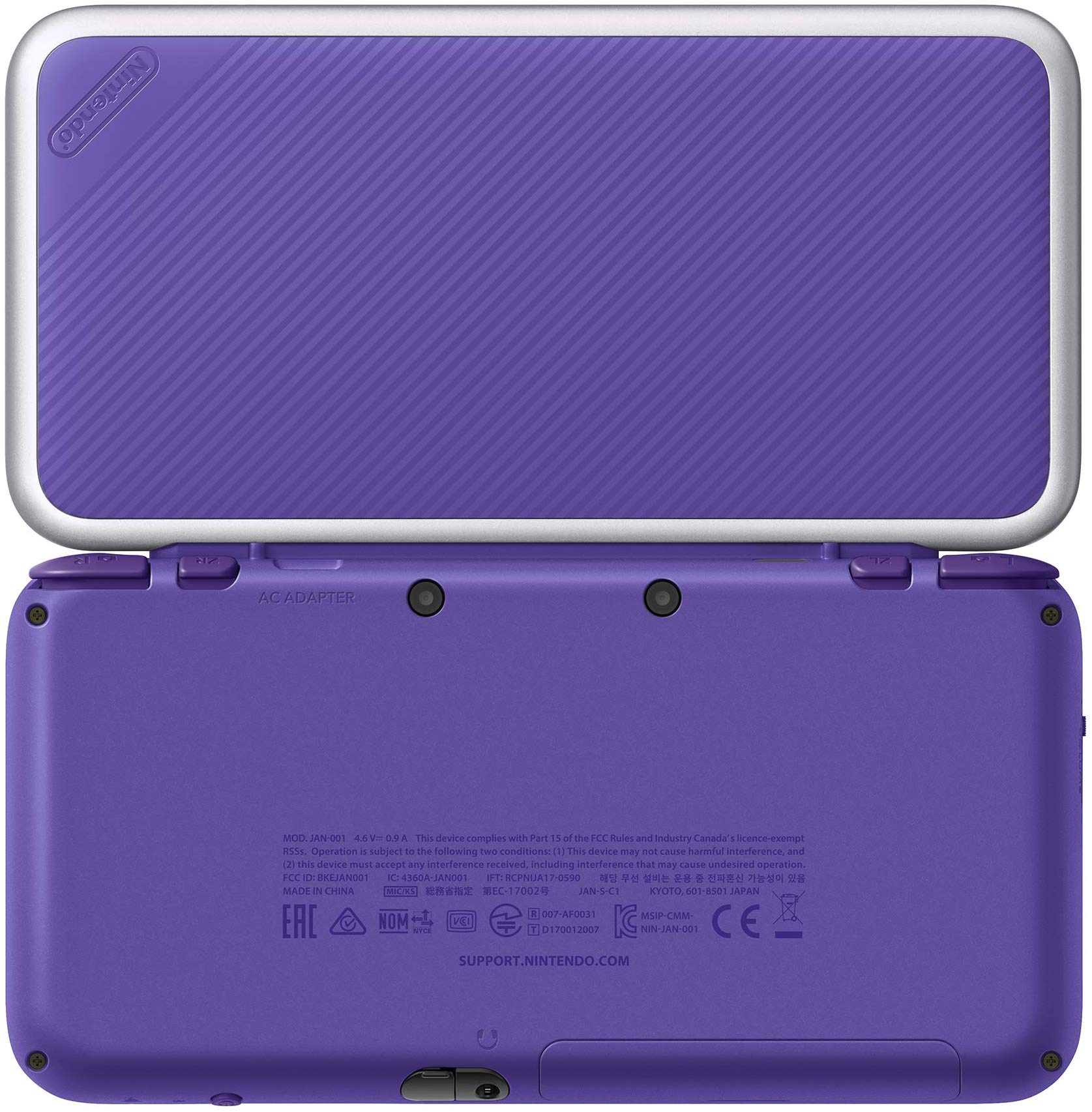 Photos Of The Purple Silver New 2ds Xl Nintendo Everything