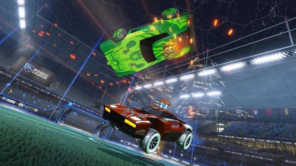 Rocket League players on Switch can now earn Fan Rewards ...