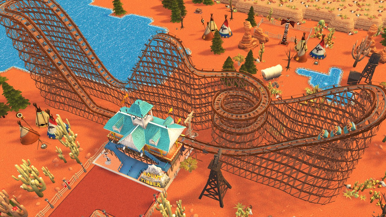 RollerCoaster Tycoon Adventures boxart, new screenshots and details