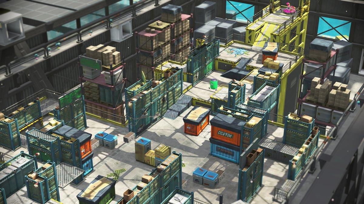 Splatoon 2 adds Walleye Warehouse map tomorrow - Nintendo ...