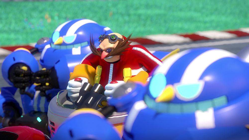 new team sonic racing screenshots show doctor s mine track