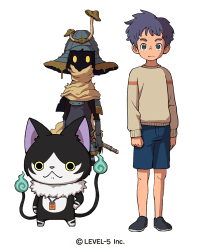 first yo kai watch 4 screenshot character art nintendo everything