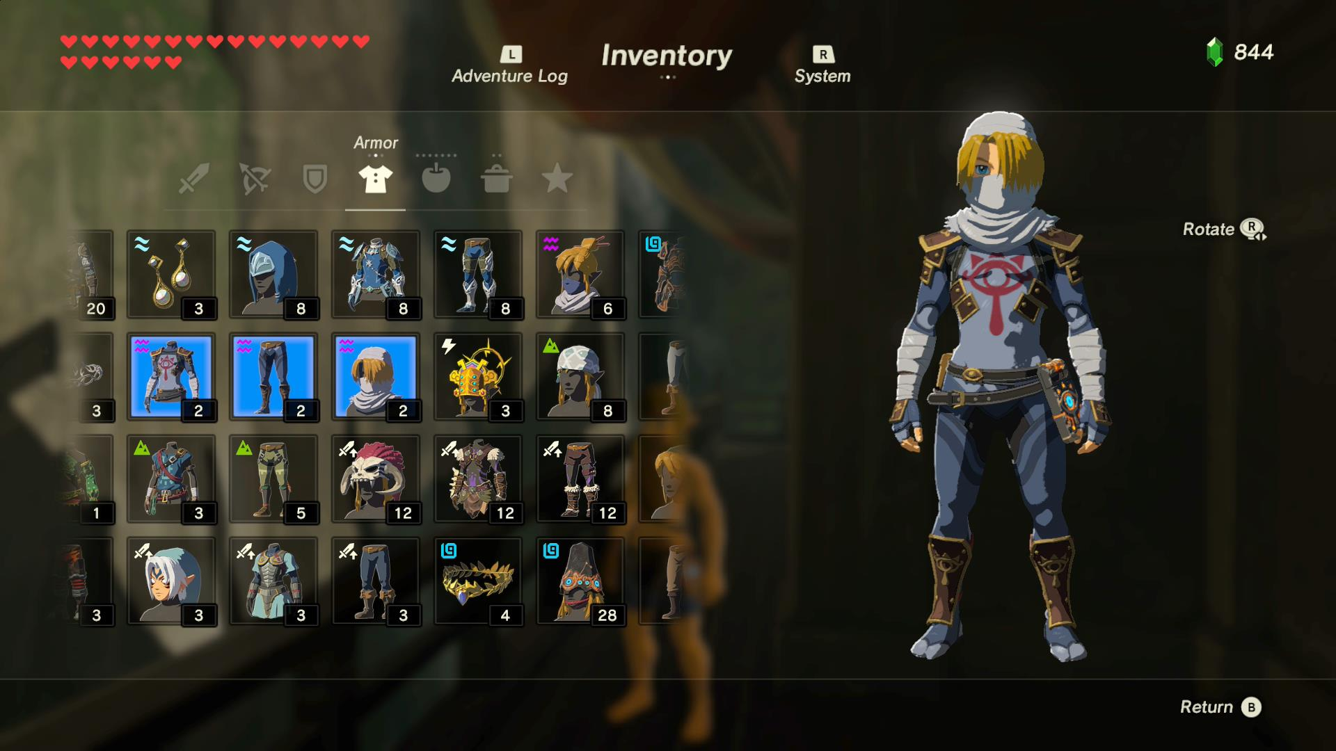 A look at all amiibo outfits in the legend of zelda breath of the