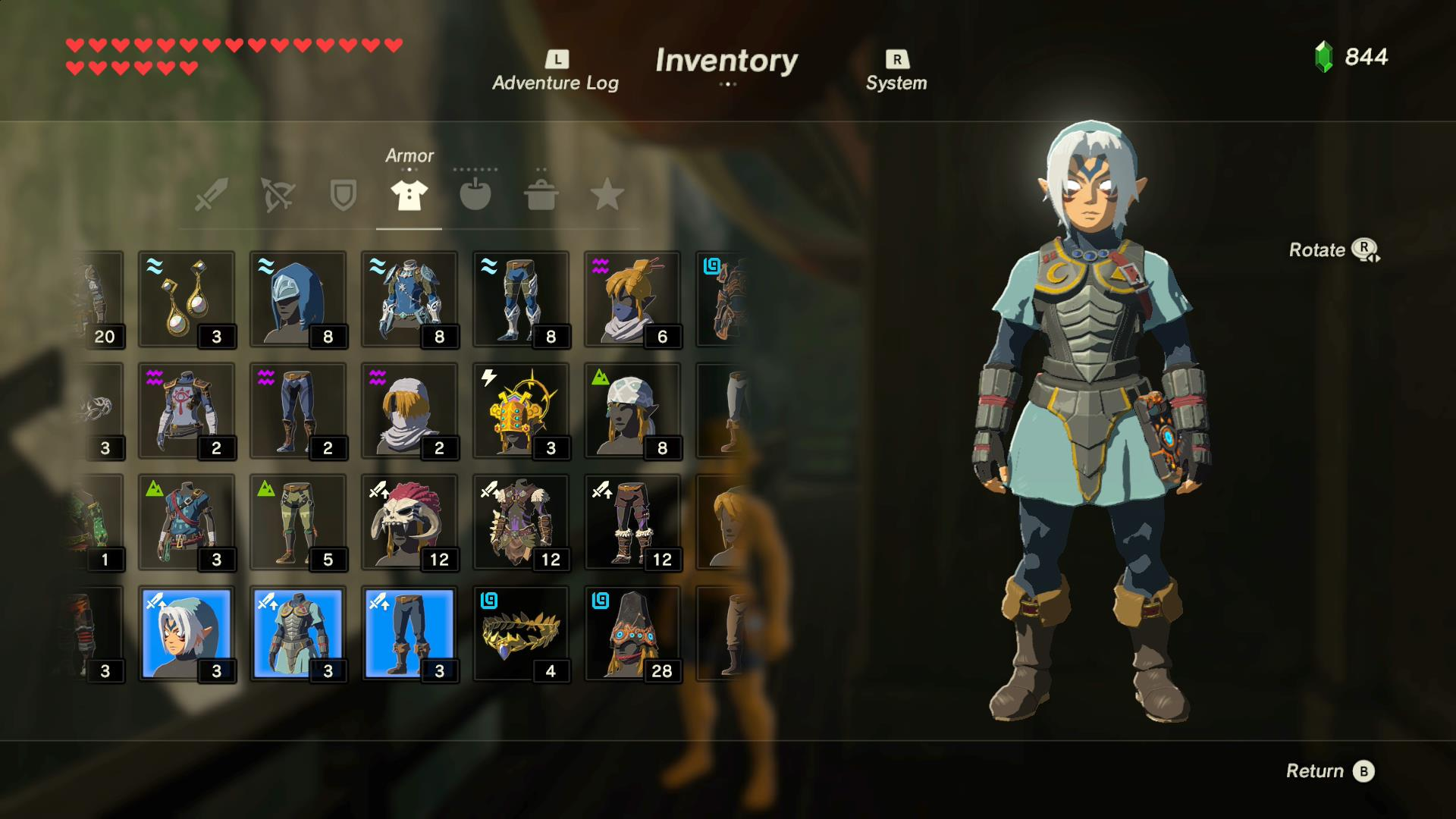 A look at all amiibo outfits in The Legend of Zelda Breath of the Wild - Nintendo Everything