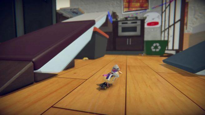 Skatebird Switch gameplay