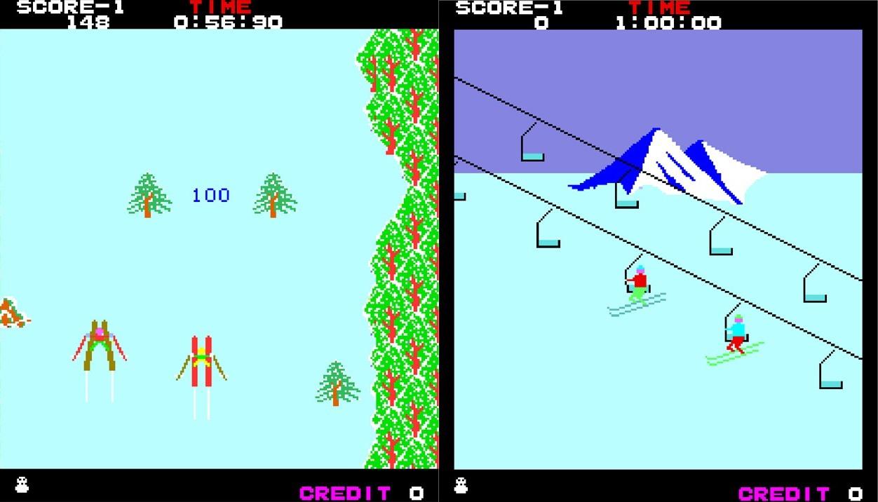Arcade Archives Alpine Ski hitting Switch this week