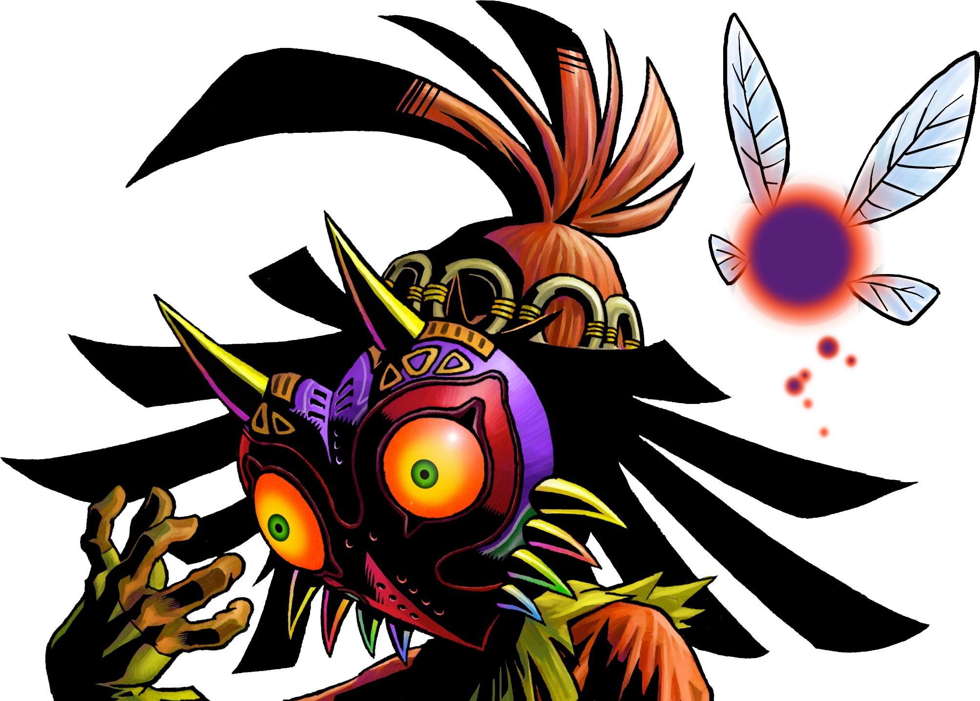 Skull Kid Playable In Hyrule Warriors Legends Phantom Ganon Is A Boss