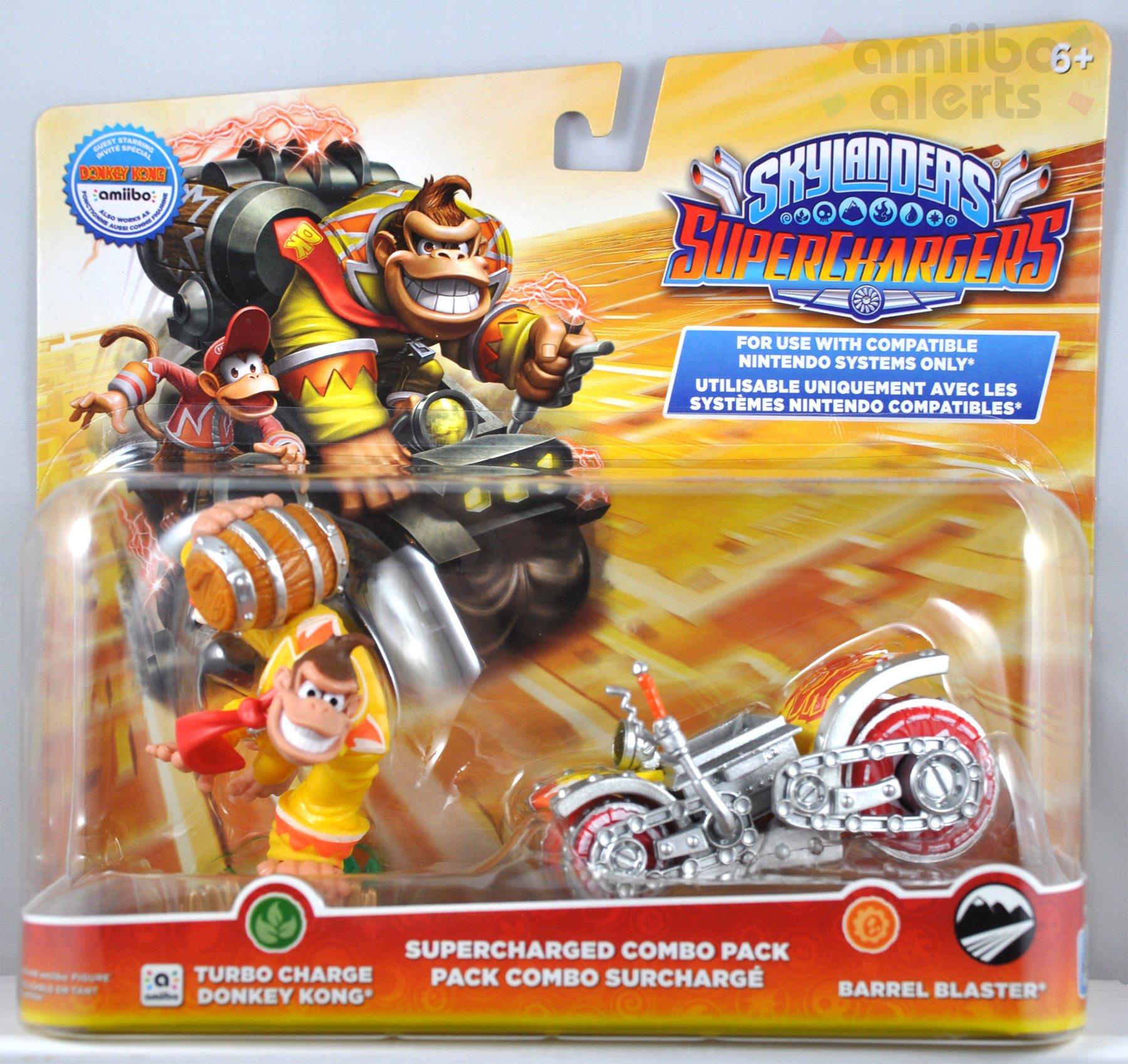 Turbo Charge Donkey Kong Skylanders Superchargers Amiibo Figure 3DS Wii WiiU