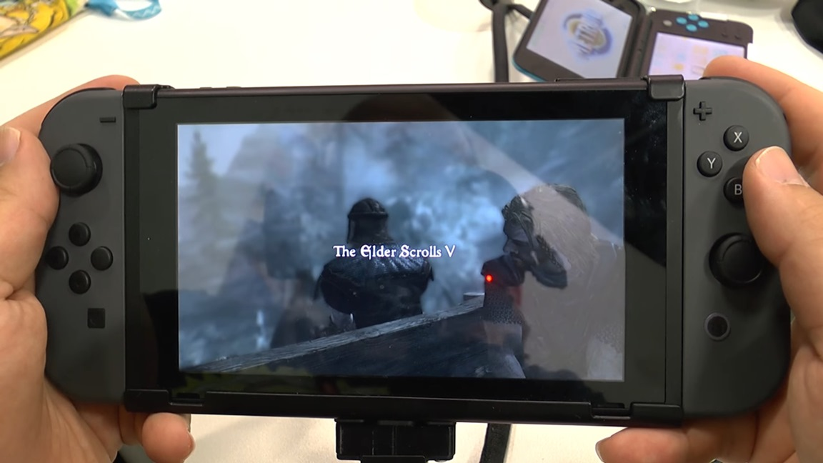 how to play skyrim on switch