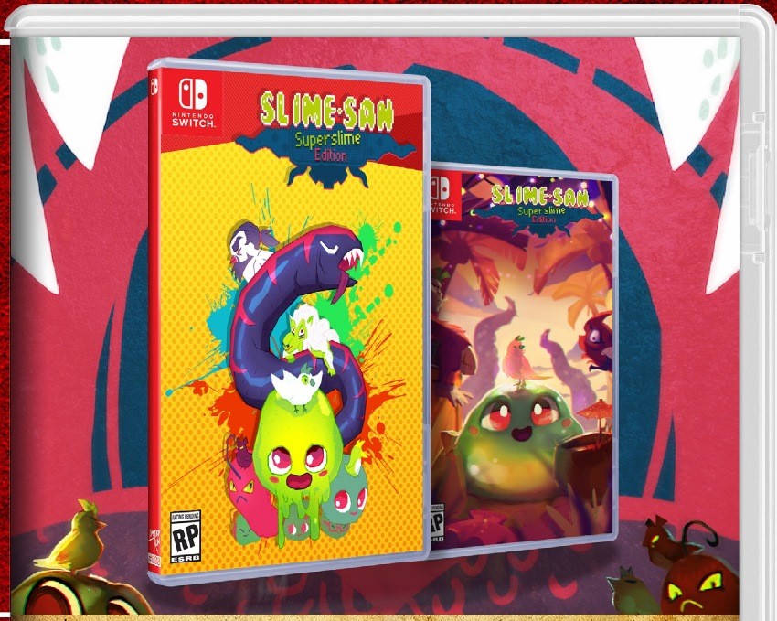 Slime-san physical version confirmed, thanks to Limited Run Games