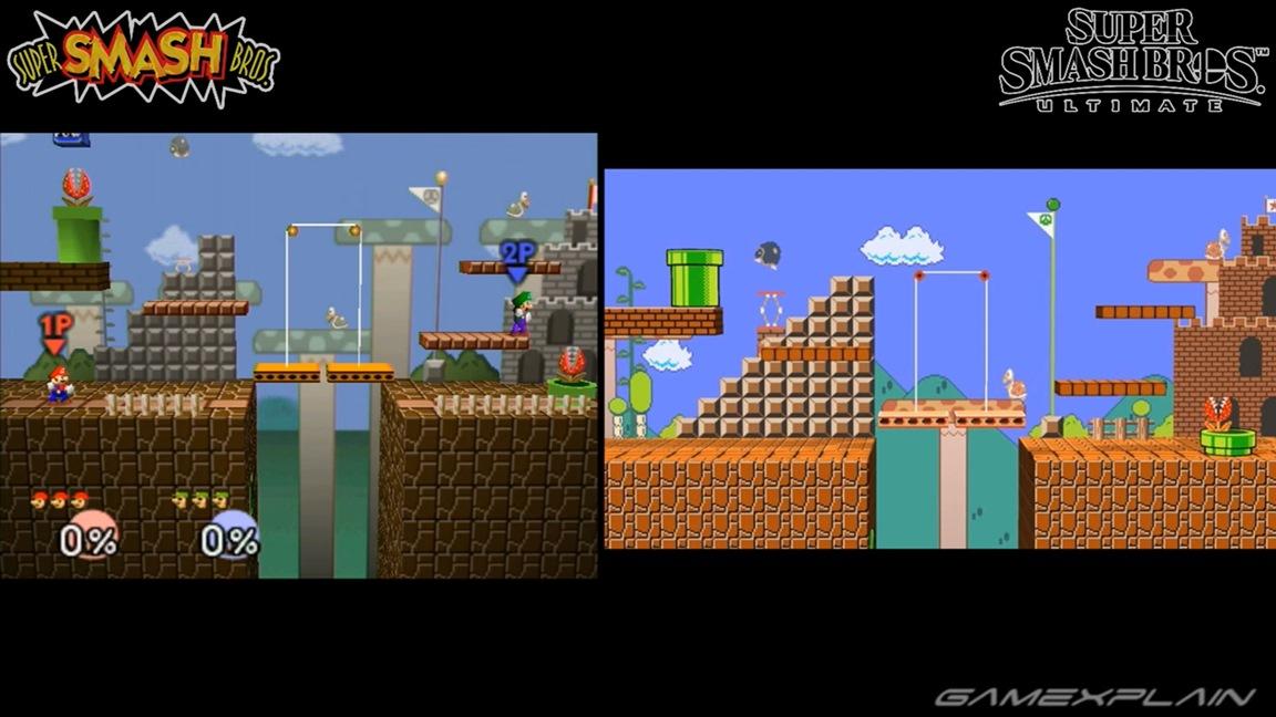 Video: Super Smash Bros  Ultimate / Smash Bros  N64 all