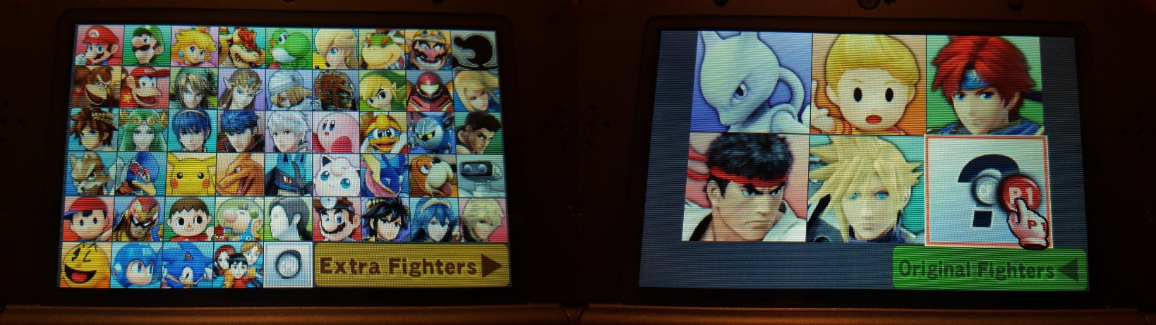 Posted On December 15 2015 By BrianNE Brian In 3DS News The Character Select Screen Super Smash Bros