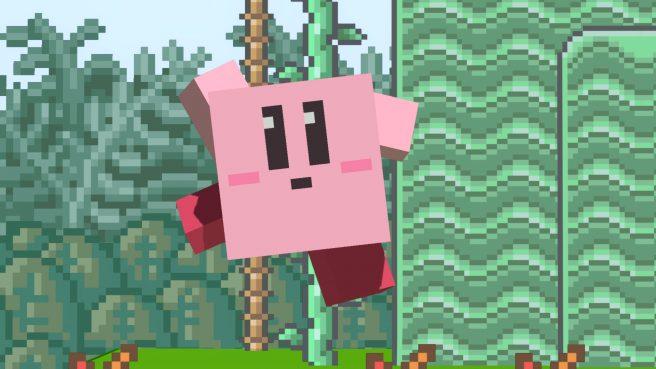 Smash Bros. Ultimate Kirby Minecraft