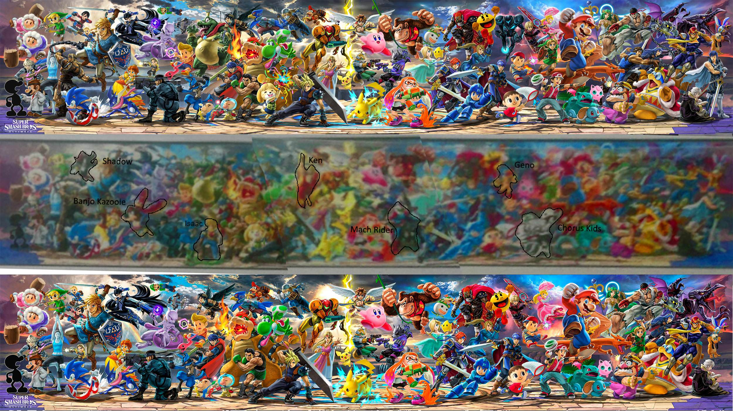 Super Smash Bros Ultimate Leaked Full Poster