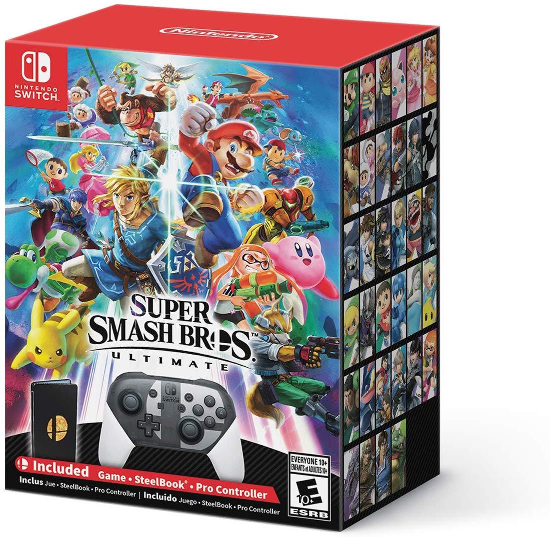 Super Smash Bros Ultimate Special Edition Back Up On Best Buy