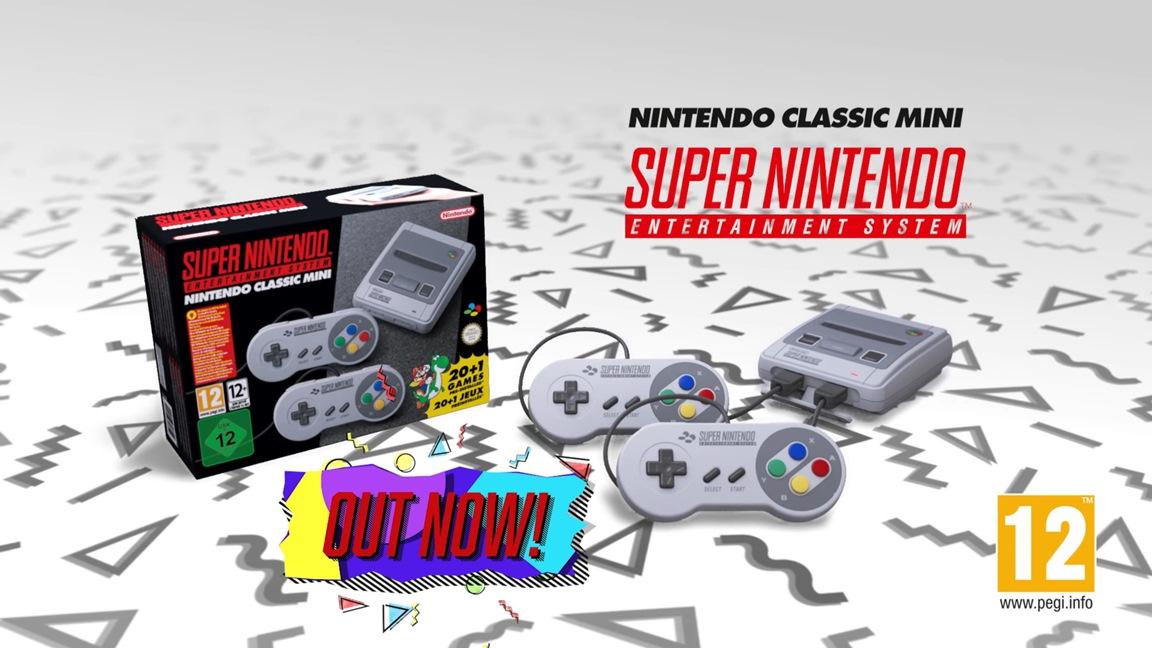 European Super NES Classic Edition launch trailer - Nintendo Everything