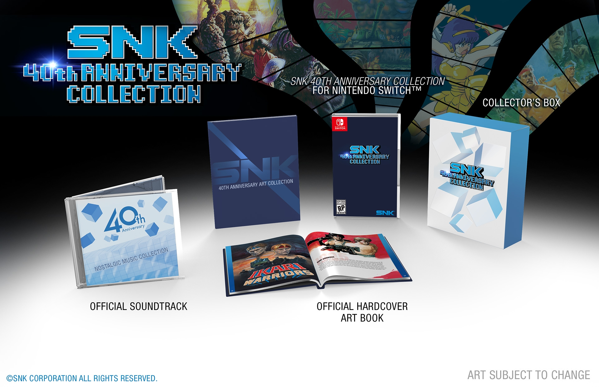 e21268aaf49 The NIS America store is now taking pre-orders for the SNK 40th Anniversary  Collection Limited Edition