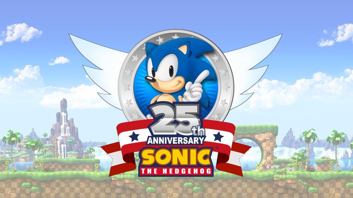 Sonic The Hedgehog 25th Anniversary Logo Nintendo Everything