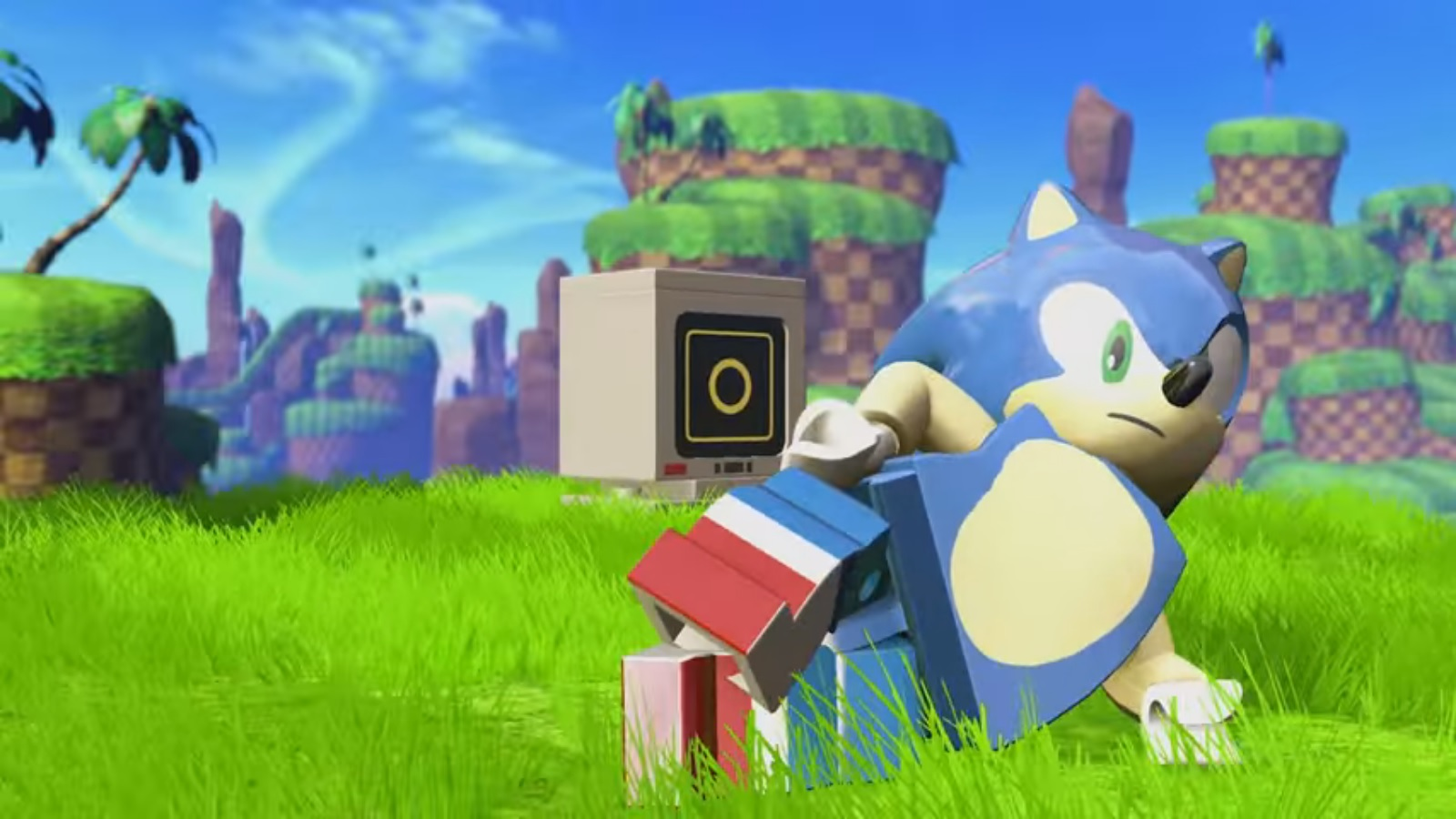 lego dimensions sonic level pack footage nintendo everything