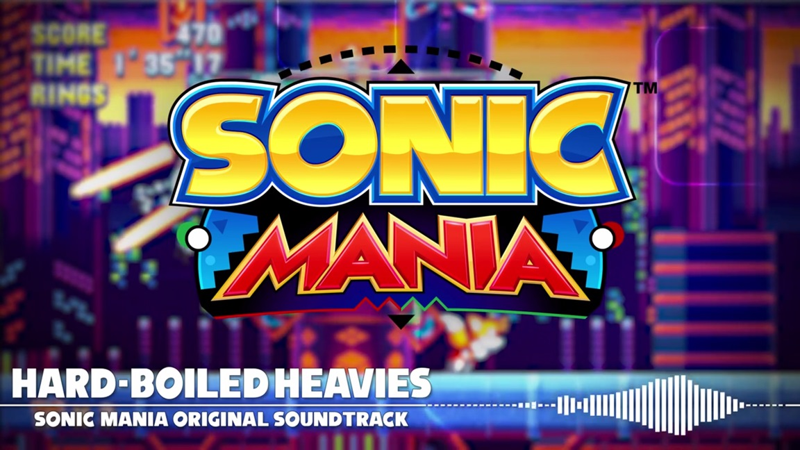 New Sonic Mania music - Hard-Boiled Heavies theme - Nintendo Everything