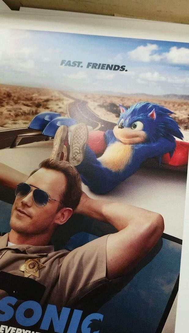 Rumor Old Sonic Movie Poster Surfaces Nintendo Everything