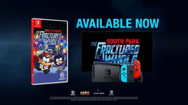 South Park: The Fractured But Whole Switch - Nintendo Switch