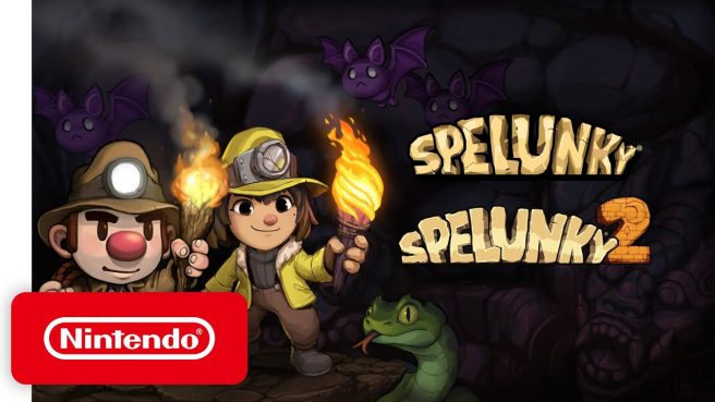 Spelunky and Spelunky 2