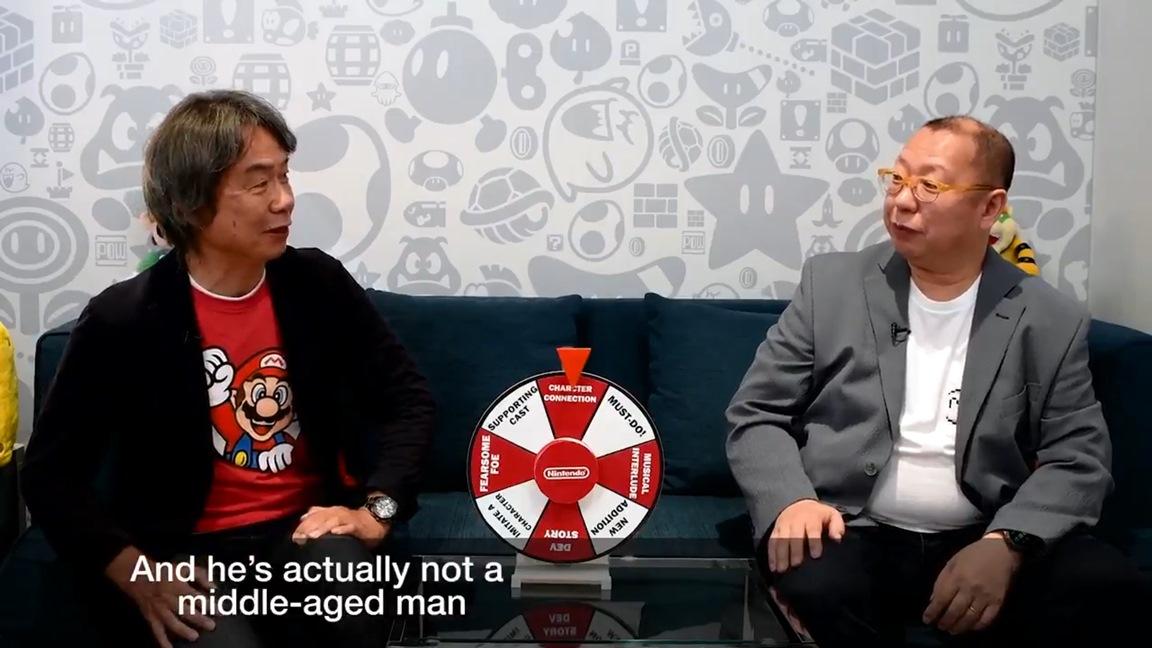 "Video: Shigeru Miyamoto and Takashi Tezuka play ""Spin the Wheel"""