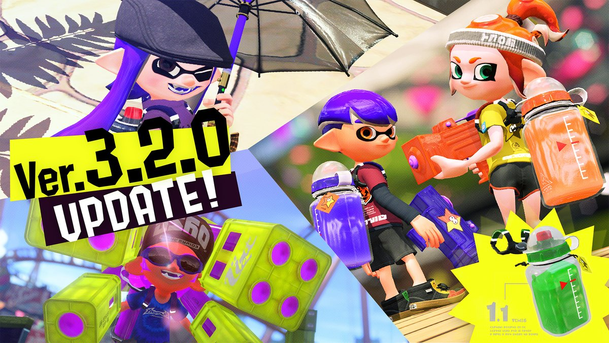 Splatoon 2 Update Out Now Version 320 Patch Notes Nintendo