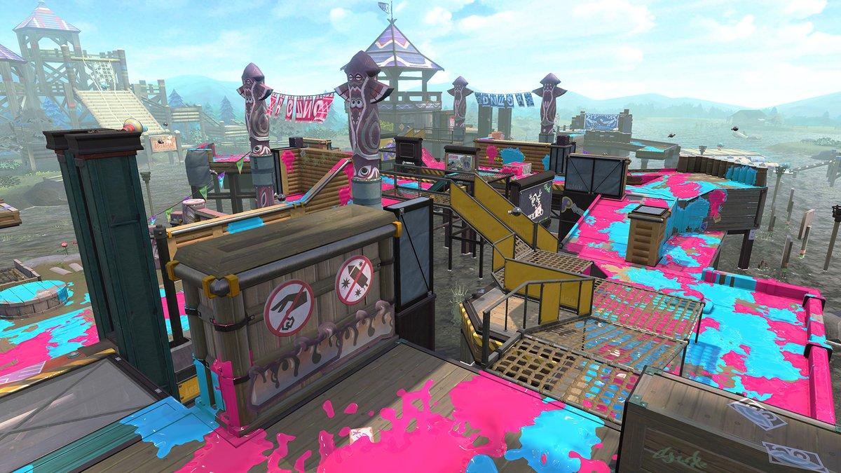 Splatoon 2 - Camp Triggerfish