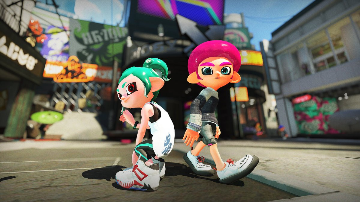 Splatoon 2 Two New Hairstyles Revealed For The Octolings
