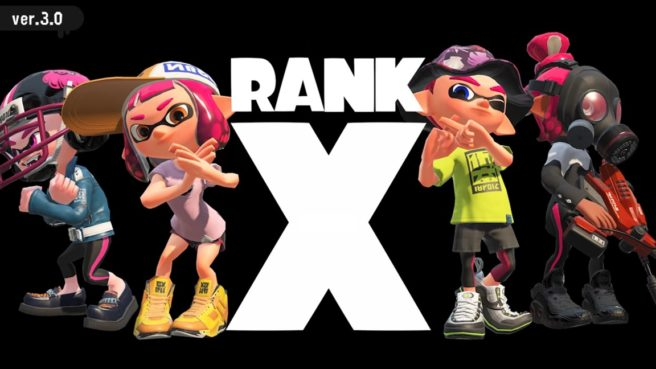 Splatoon 2 - Rank X