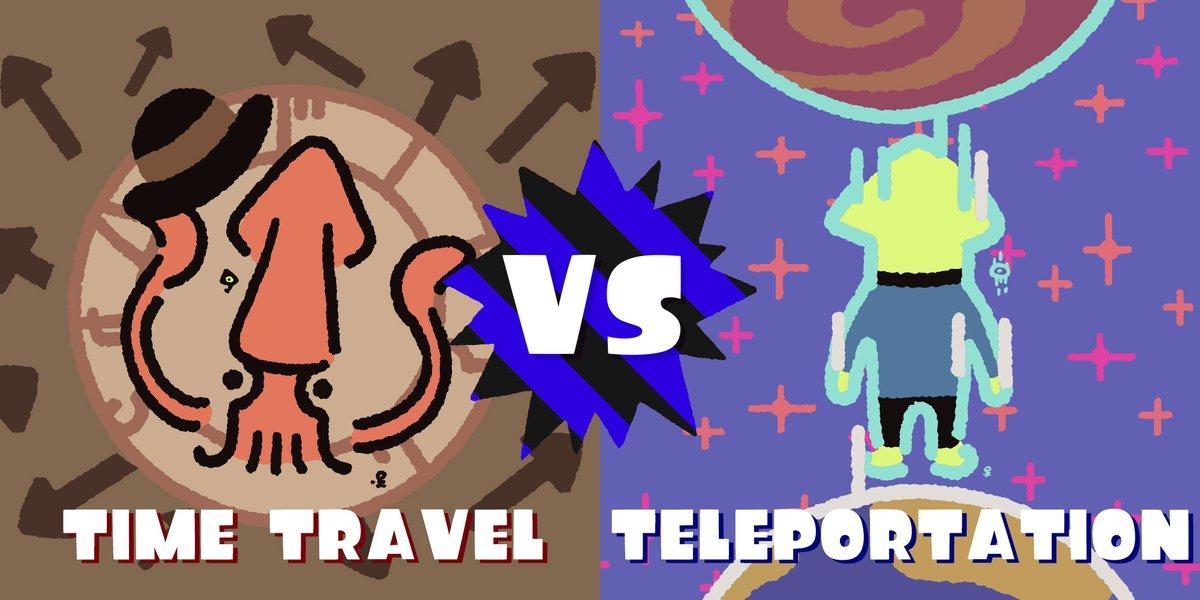 Splatoon 2 – Time Travel vs. Teleportation Splatfest results